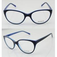 Quality Light Youth Glasses Frames , Acetate Spectacle Frames For Women wholesale