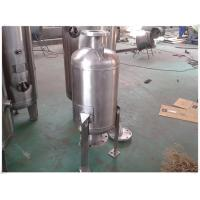 Quality 304 Stainless Steel Air Compressor Receiver Tank , Pneumatic Accumulator Tank wholesale