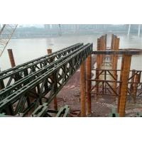 Quality Modular Mabey Compact 200 Bridge Temporary Steel Bridge For Construction Support wholesale