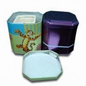 Quality Tin for China cup, Tin Box, Octagon Tin Can, Coffee Tin, Perfume Tin, Coffee Tin and Tea Tin wholesale