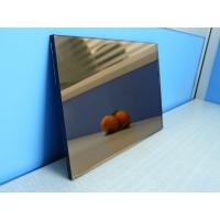 Quality Blue / Grey / Pink / Bronze Reflective Glass Sheet With CE Certificate wholesale