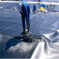 China high density polyethylene geomembranes for Landfill Pond Liners Retention ponds on sale