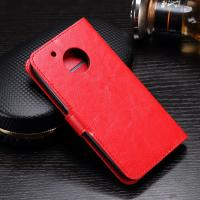 Quality Side - Open Moto G5 Plus Leather Case , Mixed Color PU Leather Wallet Case wholesale