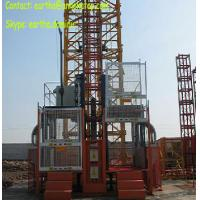 China 2t load construction elecator material hoist from Yuanxin factory on sale
