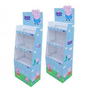 Buy cheap Toy Packaging Custom Cardboard Display Boxes Beautiful Corner Design from wholesalers