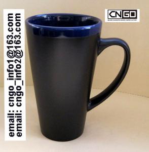 Quality Glazed/Porcelain fashion big Chalk Mug wholesale16oz Ceramic Chalk Mugs china chalk mug wholesale