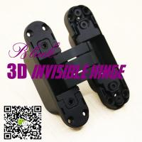 Buy cheap Opening 180 Three Ways Italian Hinges Adjust Hidden Concealed 3D Invisible Hinge from wholesalers