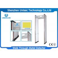 Quality Railway Station Door Frame Walk Through Metal Detector With 24 Zones UB700 wholesale