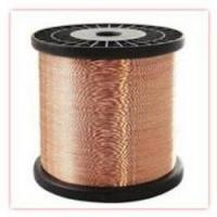China Enamelled Copper Clad Aluminum Wire(ECCA),insulating film coating,widely apply to fan motors,ballast,energy saving lamp on sale