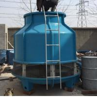 China High Efficiency FRP Material Round Cooling Tower Column Type 2960 Height on sale
