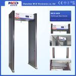 Quality Waterproof Portable Door frame Walk Through Metal Detector , 6 Zones Archway Detector Door wholesale