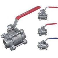 China 3pc Stainless Steel Ball Valve Ce Approved (thread, Bw, Sw Ball Valve) on sale