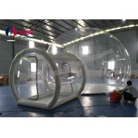 Quality Tunnel Movement Hotel House Clear Bubble Tent / Inflatable Lawn Tent wholesale