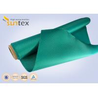 China 0.6mm  High Temp Protection Fiberglass Screen Fabric Fire Blanket For Welding on sale
