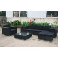 China rattan outdoor chairs furniture outdoor plastic patio furniture MTC-129 plastic sectional on sale