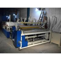 Quality Automatically toilet paper rewinding embossing machine making toilet paper small roll wholesale