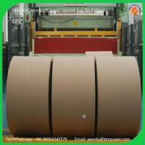 Quality BMPAPER kraft liner,kraft paper for wrapping,kraft liner paper korea  for cement bags wholesale