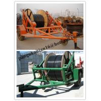 Cheap pictures cable trailer,cable drum table, new type Cable Conductor Drum Carrier for sale