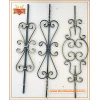 Quality forged iron bar,forged iron baluster,ornamental baluster for garden fence and gate wholesale