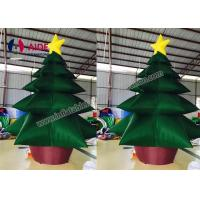 Quality Customized Christmas Inflatable Tree / Residential 20ft Giant Christmas Inflatables wholesale