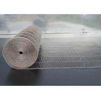 Quality 304 Stainless Steel Wire Mesh Belt , Ladder Conveyor Belt For Ovens wholesale