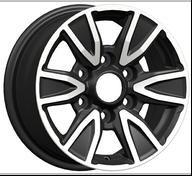 Quality ET 30 Concave Car Alloys Wheels , 6 Hole Aluminum Wheel wholesale