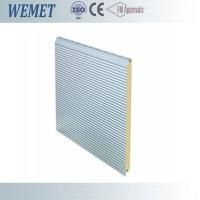 China CFC free customized PUR wall panel 30-200mm for carpot, warehouse, factory RAL color on sale