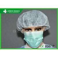 China Disposable Surgical Hair Caps / Round Caps For Dustproof Protection on sale
