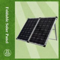 China High quality solar panel foldable, high Eff. mono-crystalline 100w foldable solar panel with controller on sale