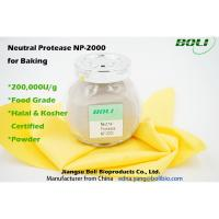 Quality 200000 U / g Neutral Protease For Baking ,  Food Grade Enzymes In Brewing Non - GMO wholesale