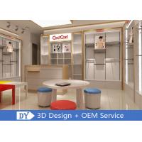Quality Veener MDF Children'S Store Fixtures With Adjustable Shelf Display Rack wholesale