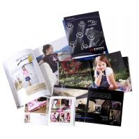 Quality Spot UV, embossing, silver Customized Colour Brochure Printing with Spiral, Glued wholesale