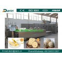 China Peanut brittle Cereal Bar Forming And Cutting Machine Controlled by Siemens PLC on sale