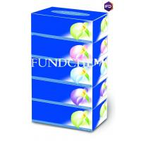 Quality 150 Sheet Forton Upgraded Version Classic Blue Series Box Facial Tissue wholesale