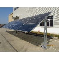 China Corrosion Resistant Solar Panel Mounting Structure Single Axis System on sale