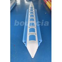 Quality 0.9mm PVC Tarpaulin Inflatable Towable Banana Boat Tubes For Water Sports wholesale
