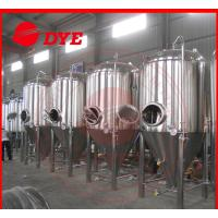 Quality Stainless Steel Conical Beer Fermenter 50Mm - 80Mm Insulation wholesale