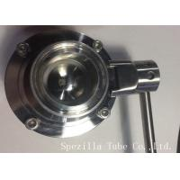 Quality AISI304 Stainless Steel Sanitary Valves ASTM A270 Surface Polished wholesale