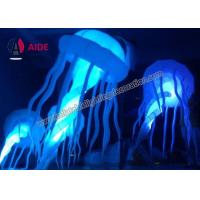 Cheap Lighting Effects Inflatable Lawn Decoration , Octopus Inflatable Balloon for sale