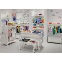 Quality Kids Shop Display Furniture / Retail Apparel Fixtures Lovely Elegant Style wholesale