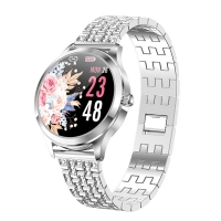 China Call Reminder Womens Fitness Smartwatch IP68 BT5.0 Dynamic Heart Rate Smart Bracelet on sale