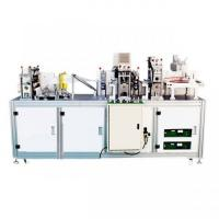 Quality High Productivity Disposable Mask Making Machine , Medical Face Mask Machine wholesale