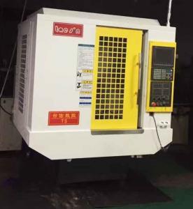 China 21T Servo Motor CNC Drill Tap Center Man Machine Interface Easy Operation on sale