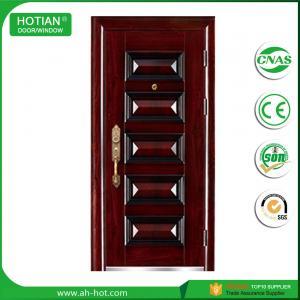 Quality Main Entrance Exterior High Security Steel Door, Steel Security Door wholesale