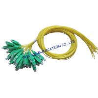Quality SM LAN Optical Fiber Pigtail 12 Pack SC / APC Low Insertion Loss wholesale