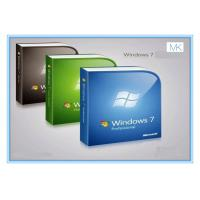 China Computer System Microsoft Update Windows 7 Pro OEM Software Windows 7 Retail License on sale