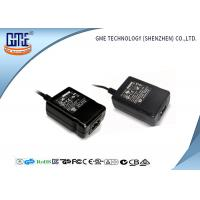 Quality OEM Black Desktop switchable power supply Input 240V AC Output 12V 1A wholesale