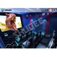 Quality Small Mobile 7D Movie Theater With 9 seats possess Intelligent 7D control system wholesale