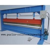 Quality Slitter Hydraulic Bending Machine with Color Steel Panel , Steel Pipe / Tube Bender wholesale