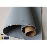Quality Grey Silicone Coated Fiberglass Fabric 1600GSM 47OZ Heavy Duty Welding Blanket wholesale